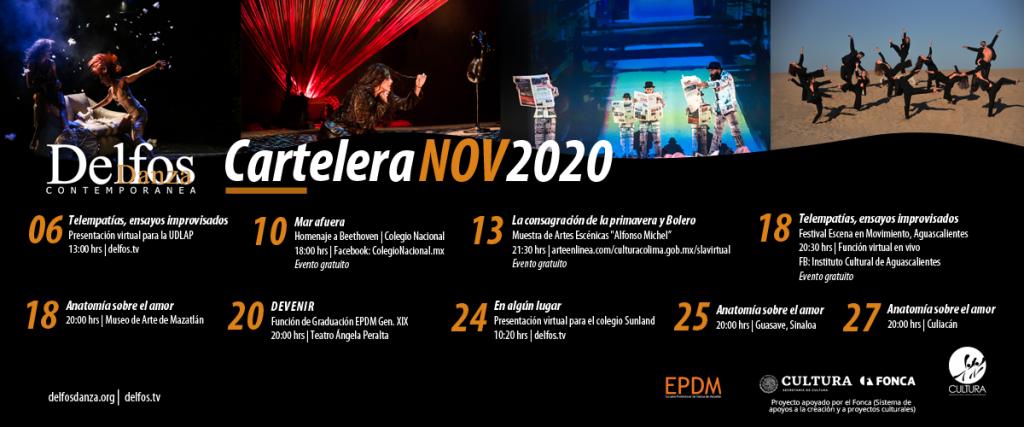Delfos EPDM Cartelera Noviembre 2020
